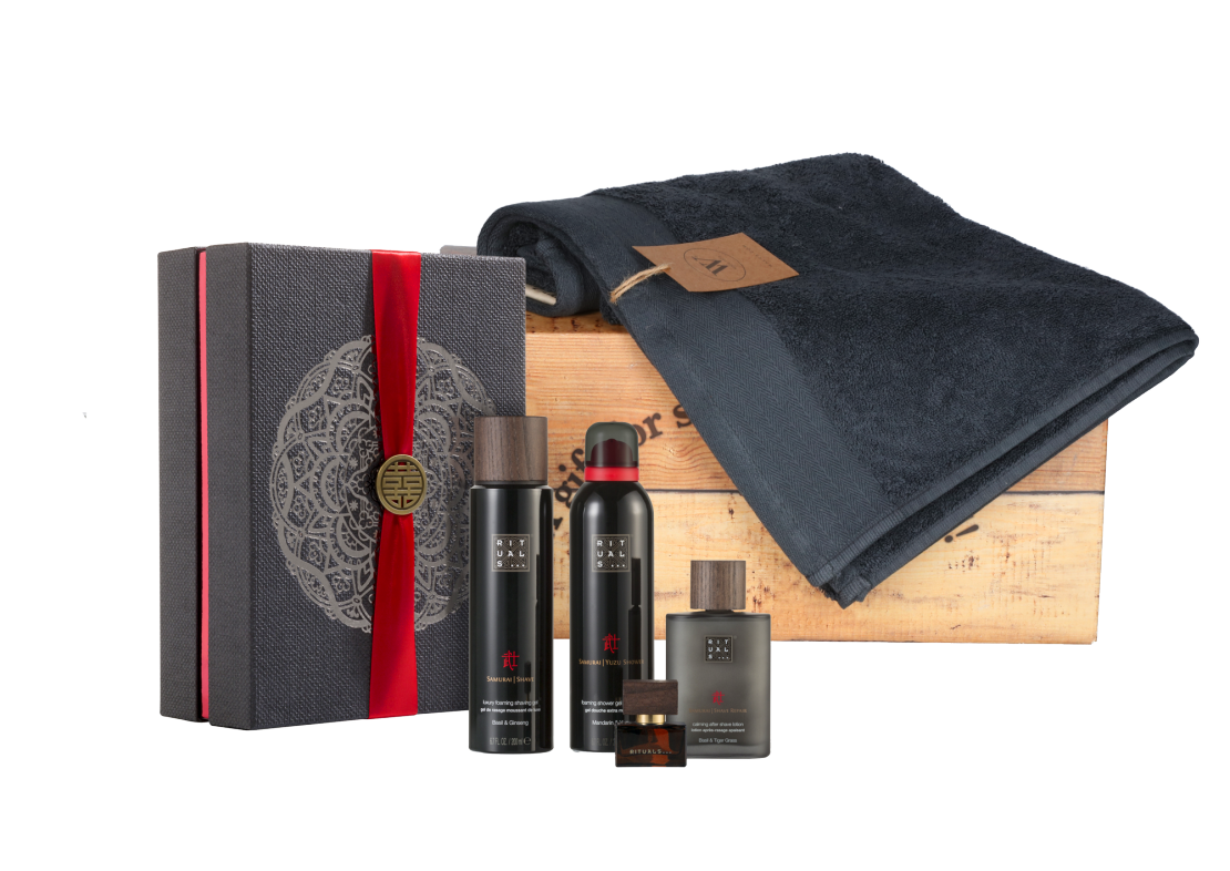 Rituals Samurai Collection met baddoek