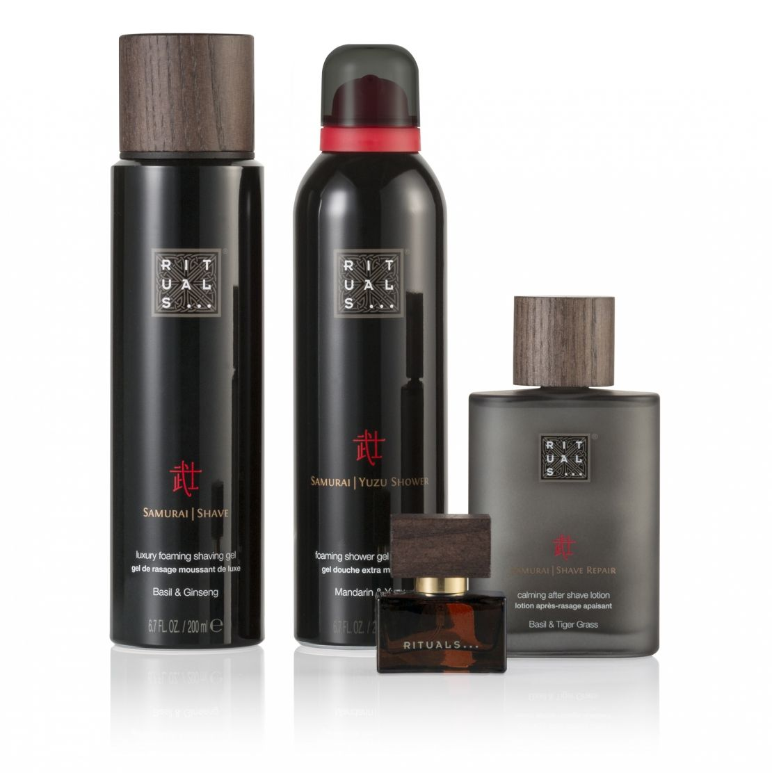 Rituals Samurai Collection met reistas