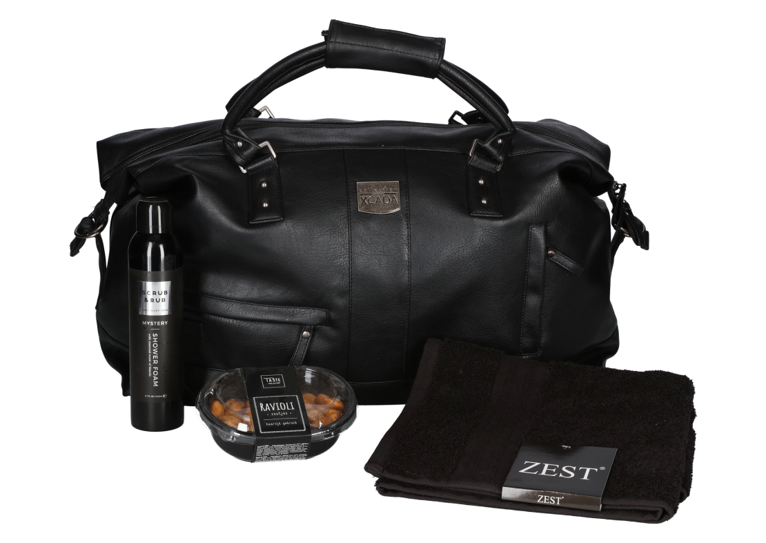 Kerstpakket Travel & black
