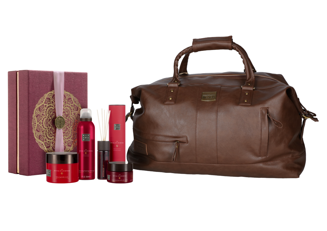 Rituals Ayurveda Collection met reistas
