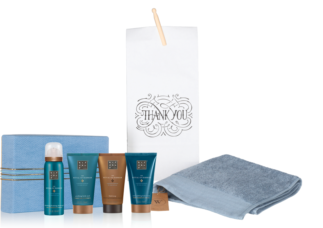 Rituals Hammam treat met baddoek