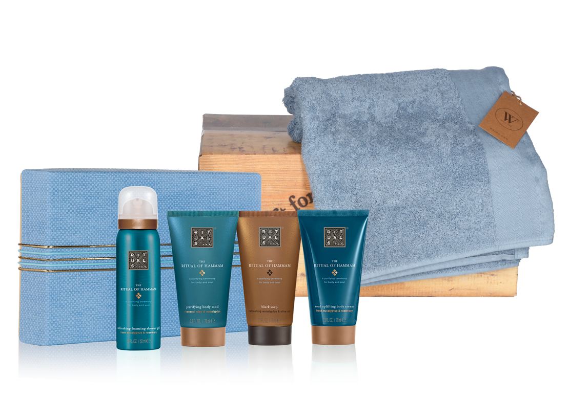 Rituals Hammam treat met baddoek terry