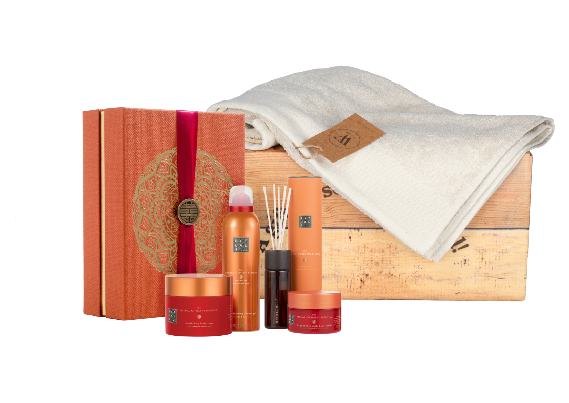 Rituals Happy Buddha Collection met baddoek