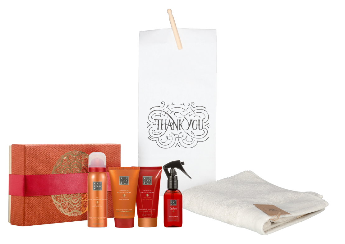 Rituals Happy Buddha Treat met baddoek