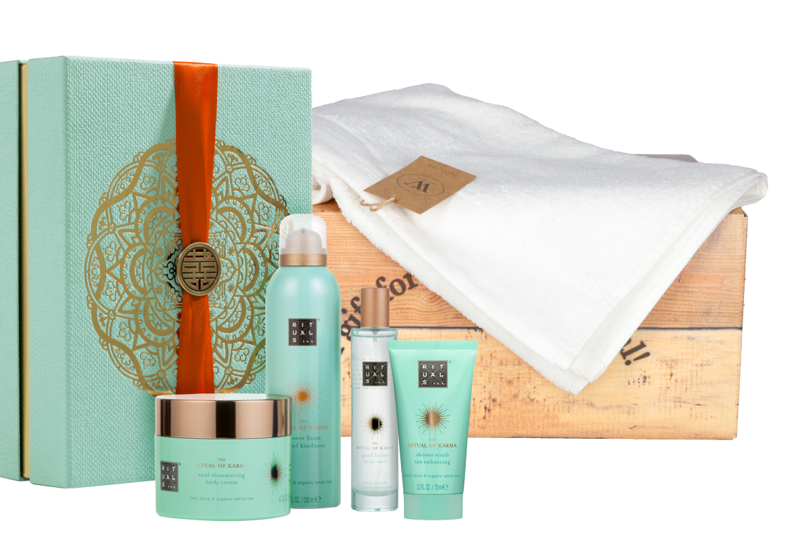 Rituals Karma Collection met baddoek