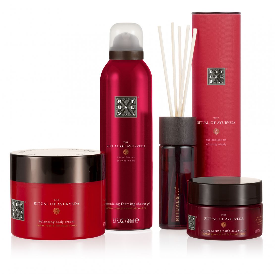 Rituals ayurveda collection