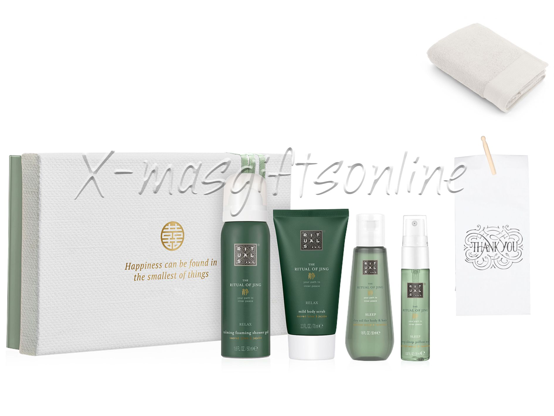 Rituals dao / jing treat met baddoek in paperbag